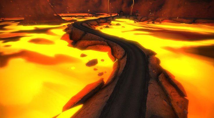 ボルケーノ ZWIFT(ズイフト) Watopia開発秘話 コース 世界最大の飛行艇のヒストリ@Tour of Fire and Ice