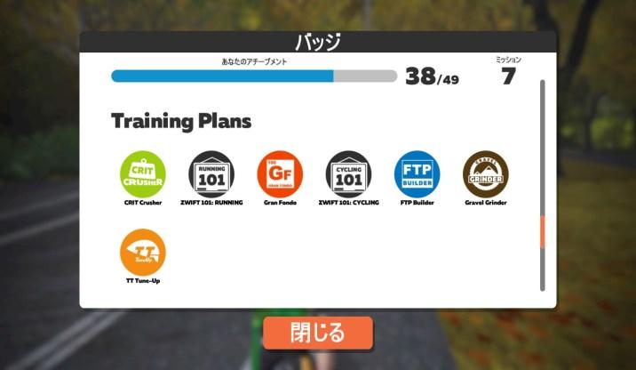 ZWIFT(ズイフト) 個人ワークアウト完全マスター トレーニングプラン