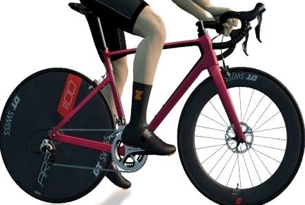 ZWIFT(ズイフト) 全90種のバイクフレーム入手方法 VAN RYSEL 『EDR CF』