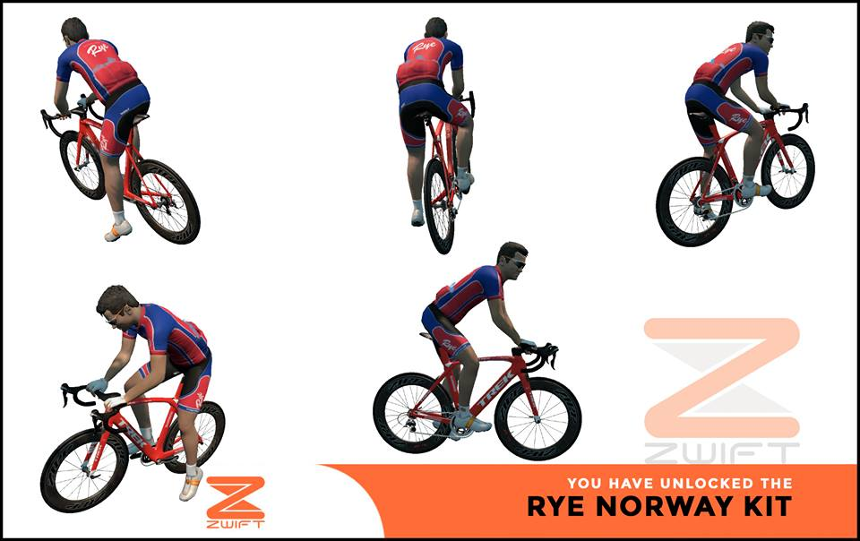 Rye Norway ZWIFT(ズイフト) 全ジャージ入手方法、プロモコード一覧