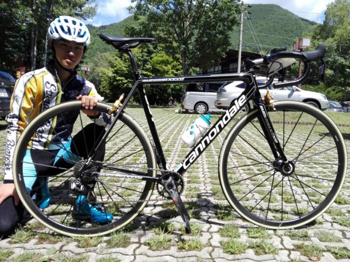 乗鞍5位入賞した梅ぴょんBIKE5.3kg