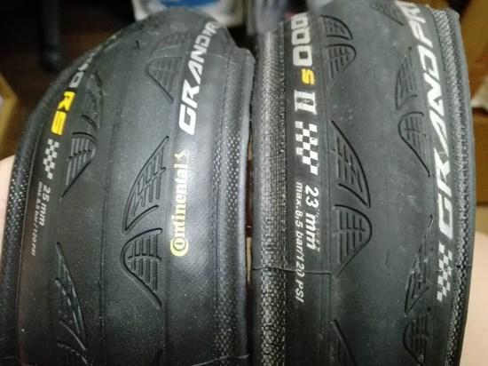 コンチネンタル GP4000 RS タイヤ インプレッション continental 重量 レビュー 使用感