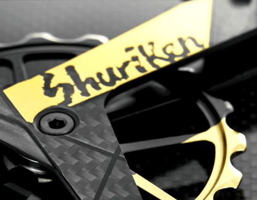 token トーケン『Shuriken』和風金メッキが煌めく13-19Tビッグプーリー