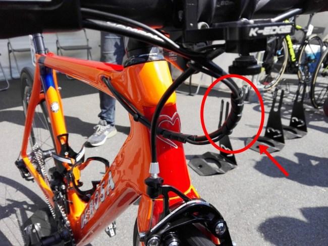 ロードバイク ワイヤー まとめる スパイラルチューブ 熱収縮チューブ