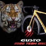 新たな虎の襲来!GUSTO(グスト)『RCR Team Limited DISC』2020年モデル