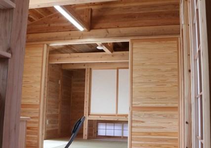 五木源住宅復興モデル住宅(西原村にて)