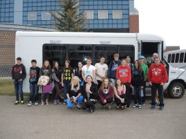 The 2nd Annual Fred Scharmann Memorial Hiking Trip with 21 students and teacher Greg Boutestein departed Sept. 24. The three day hiking is held in the best trails of the Alberta Rockies in Banff National Park.