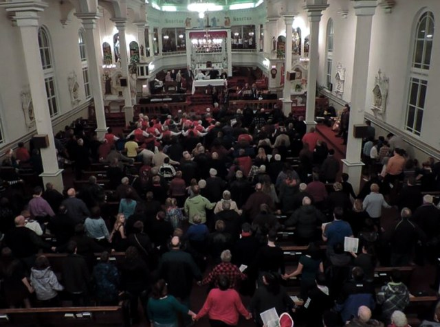 2015 saw a slightly smaller congregation than in recent years.