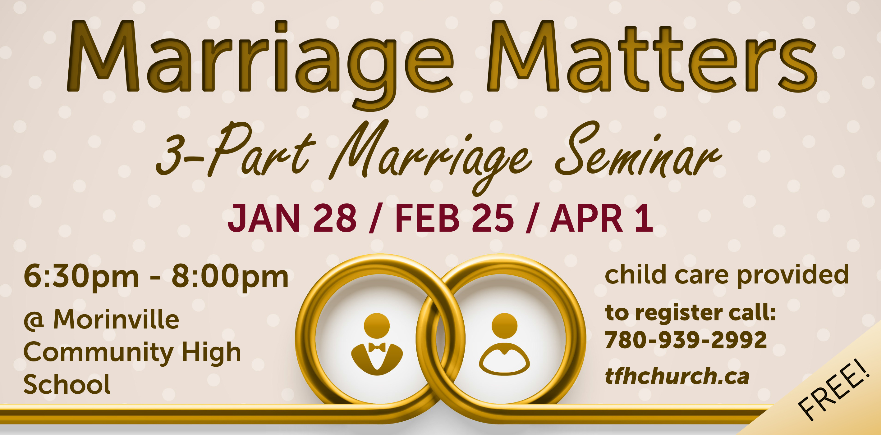 JAN 21 – Marriage Matters Ad – Morinville News
