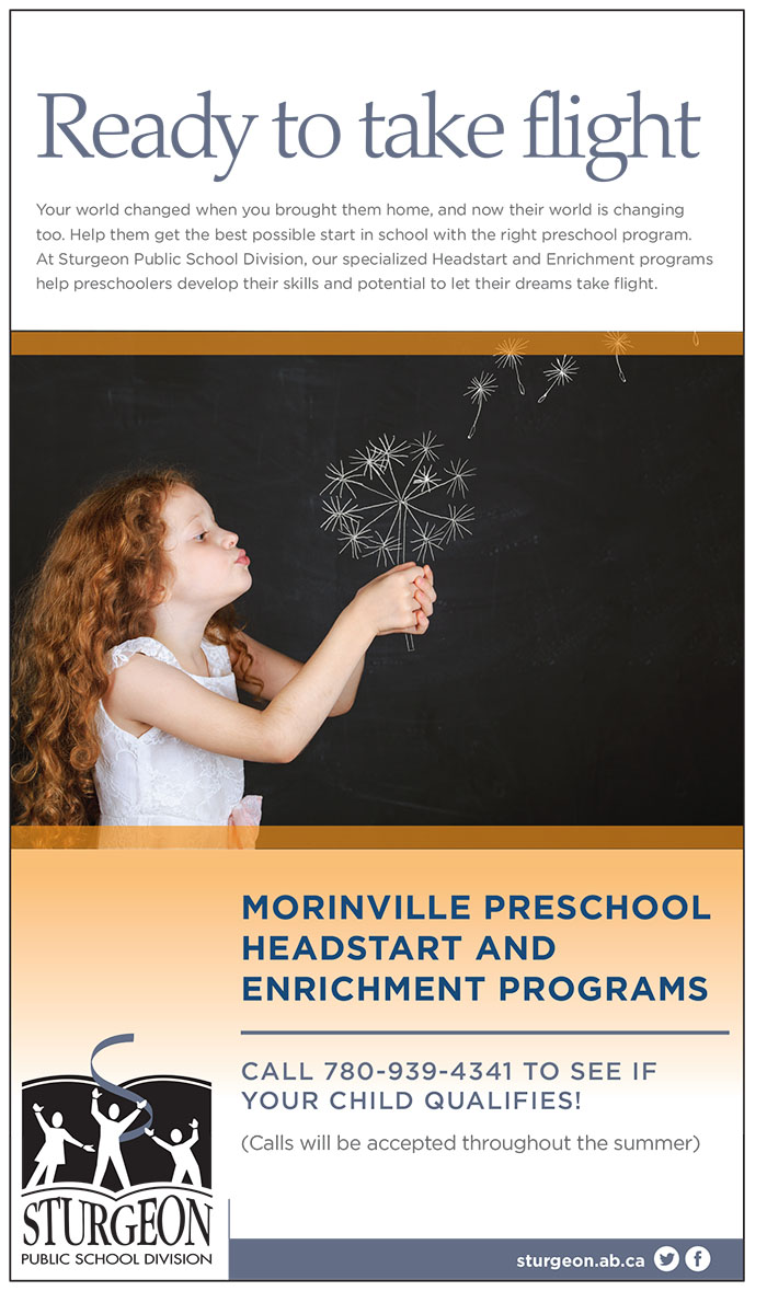 Enrichment and Headstart Screening online ad