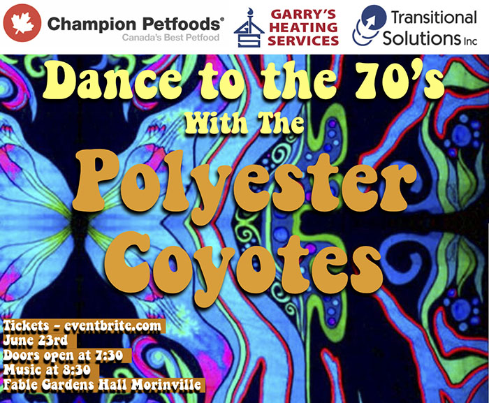 Polyester Coyotes Poster