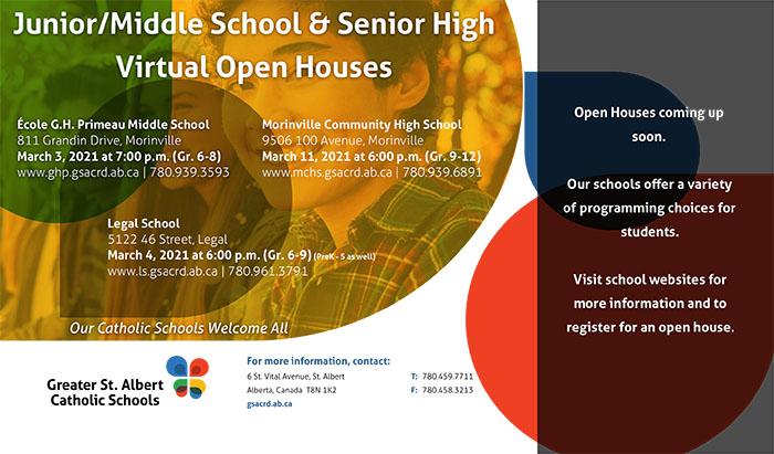 2021 Jr -Sr High Open Houses Morinville R feb 10