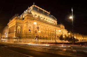 プラハの国民劇場