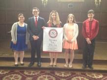 Morissa was the Sigma Tau Delta Honor Society President at Drew University.