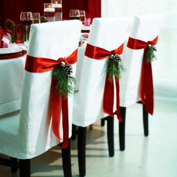 christmas_bows_dining_chair