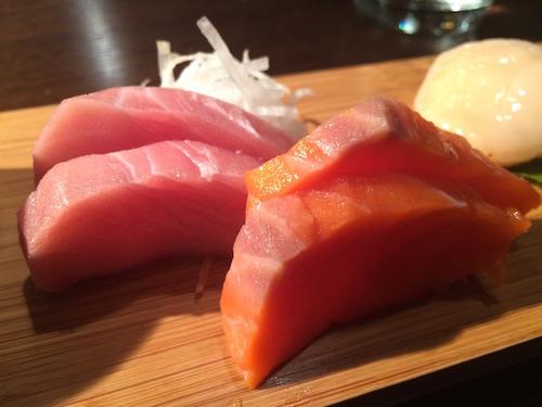 Akiko's Restaurant - umimasu (Australian ocean trout) & sustainable blue blue fin chu toro