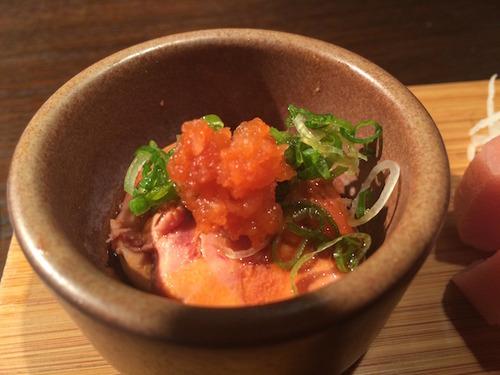 Akikos' Restaurant - ankimo (monkfish liver pate)
