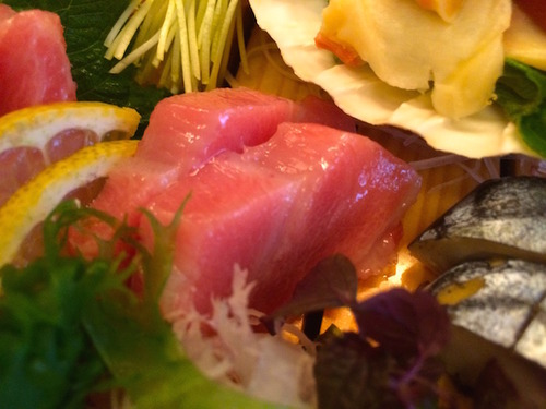 Matsumi tuna sashimi - Hara-Toro