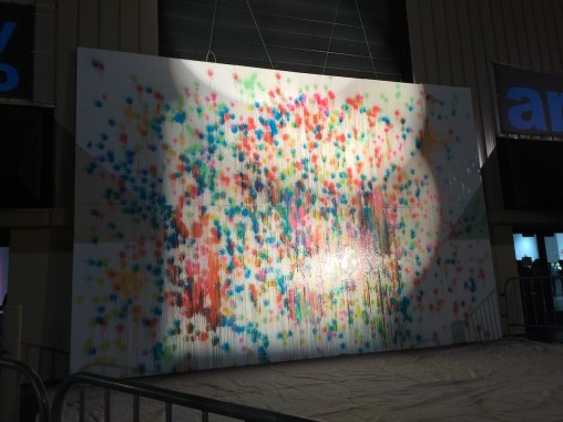 prelude to spectra - painted wall