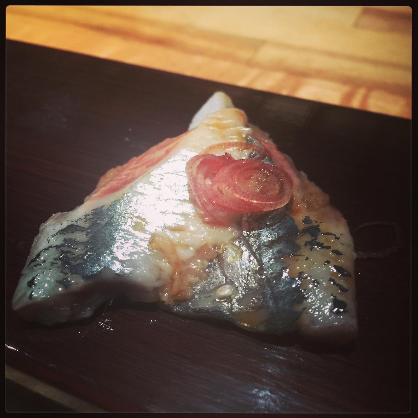 Sushi Ran - omakase - iwashi sashimi