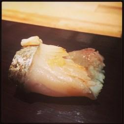 Sushi Ran - omakase - sagoshi sashimi