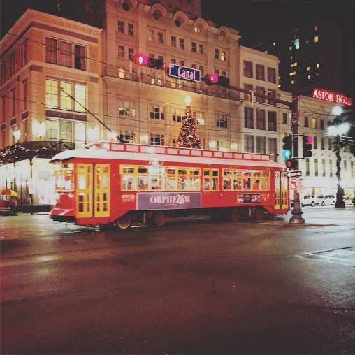 Streetcar on Canal St
