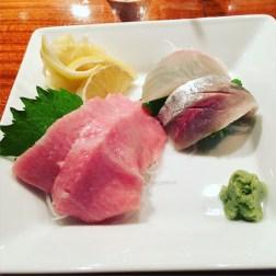 Toni's Sushi Bar - toro, aji, tai