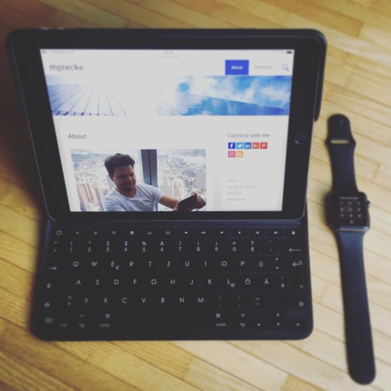 iPad Pro and Apple Watch