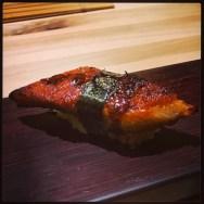 Sushi Ran - omakase - unagi nigiri