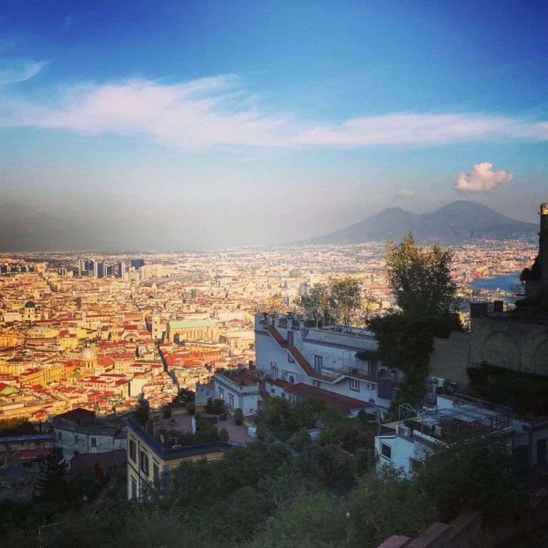 Napoli - view from castel sant' elmo