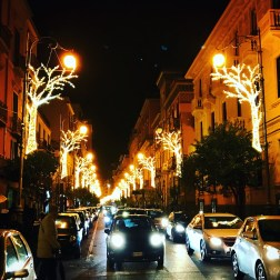 Christmas in Salerno - streets
