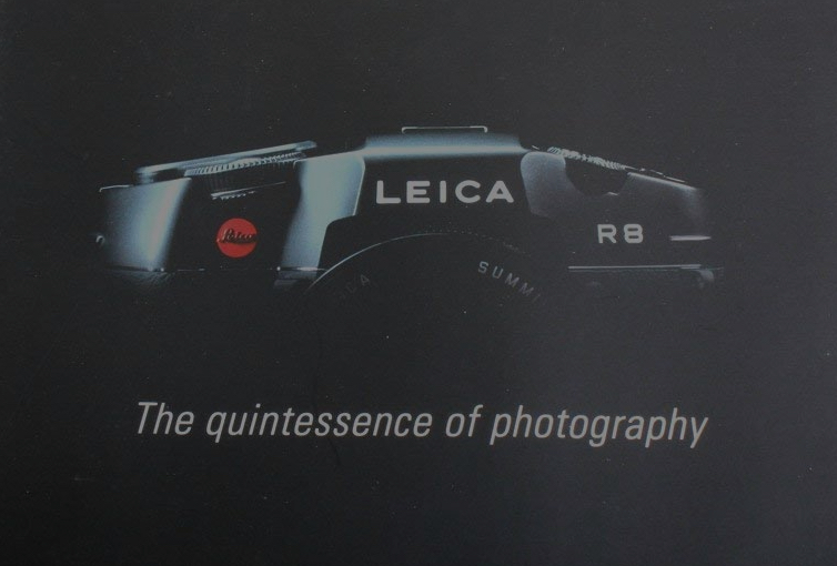 Leica R8 - the quintessence of photography