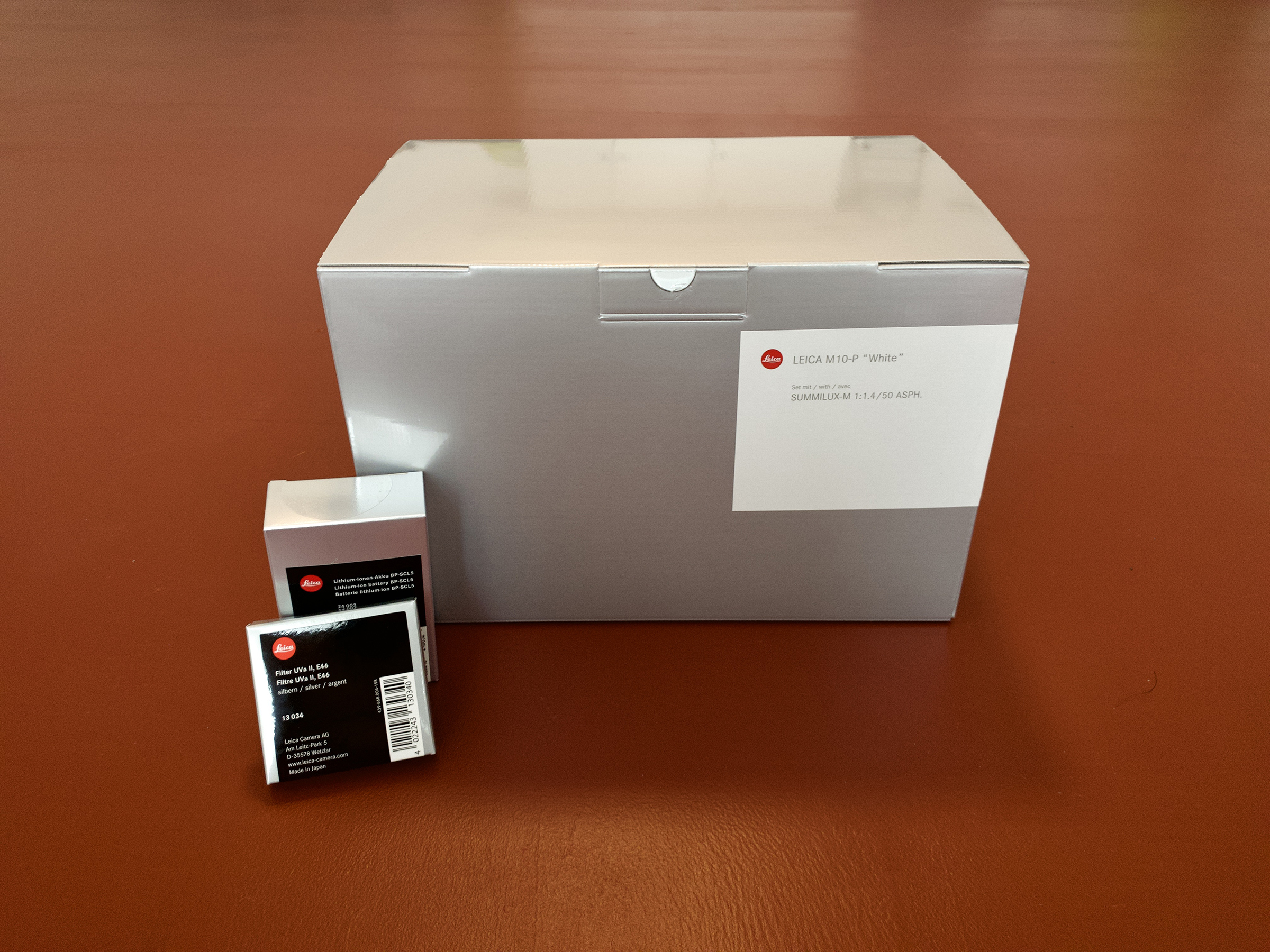 Leica M10P White Box Set