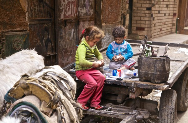 The Kids from the garbage city Ezbet El Nakhl