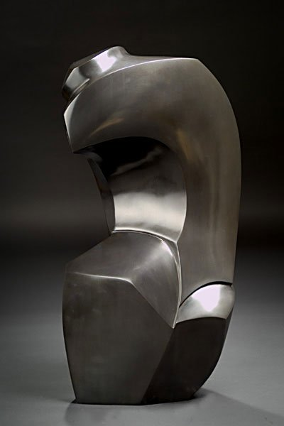 Steel Sculpture by Morley Myers