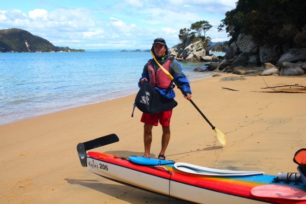 Día 10 Parque nacional de Abel Tasman, excursión en kayak! (5/6)