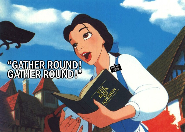 Sister Belle would gather large groups to teach the Gospel - Mormonbuzzz.com