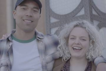 Jamesthemormon and American Idol Jenn Blosil Have Unbelievable Missionary Moment While Making Easter Video