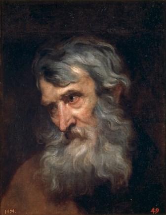 4_Anton Van Dyck_ Hoofd van oude man_1620_M