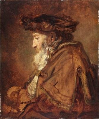 5_Rembrandt van Rijn_Portret van een rabbijn_M