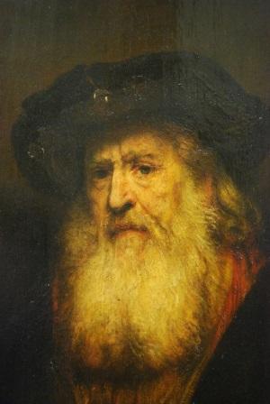 8_Rembrandt_Portret van oude man_2_M