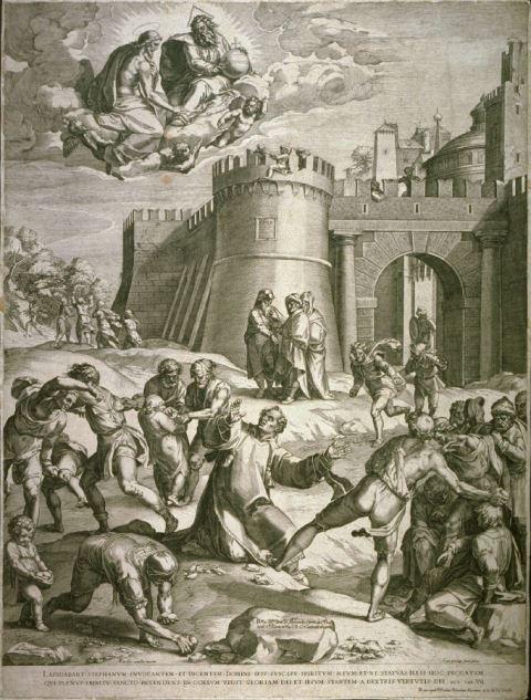 Cornelis Cort_Steniging van Stefanus_WL
