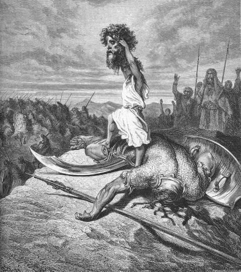 Doré_David en Goliath