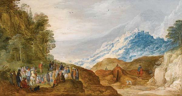 Joos de Momper, 1564-1635, Bergrede_ Antwerpse schilder
