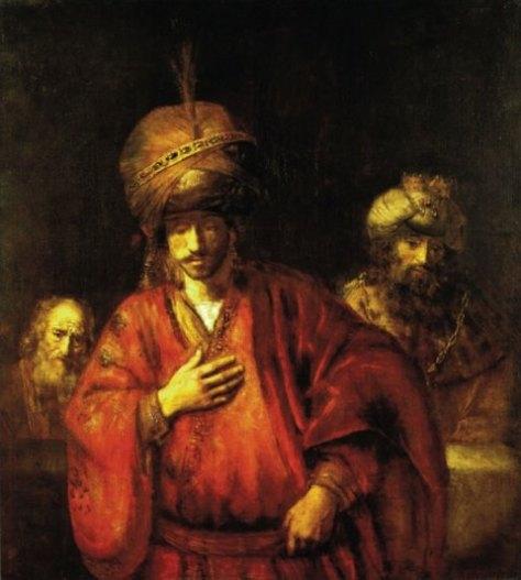 Rembrandt_David en Uriah