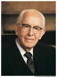 President Ezra Taft Benson - Prophet of the LDS Church