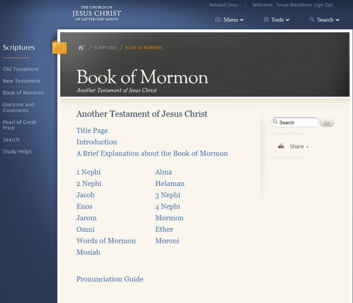 Why the best part of the Book of Mormon is so short