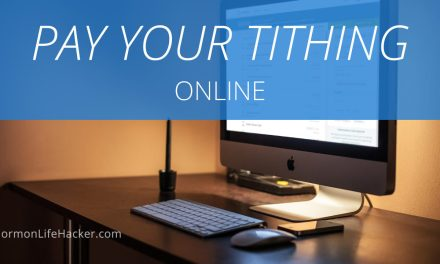Pay Your Tithing Online