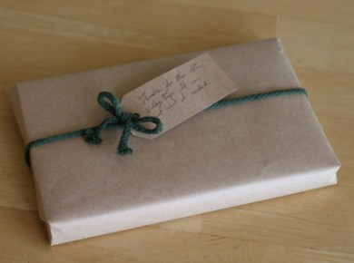 How to Gift Wrap a Book without any giftwrap