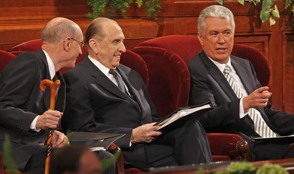 LDS Church 1st Presidency: Monson, Eyring, Uchtdorf